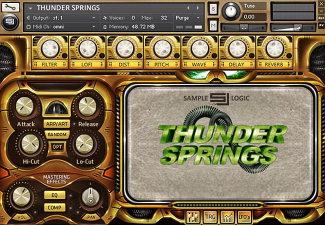 Thunder-springs