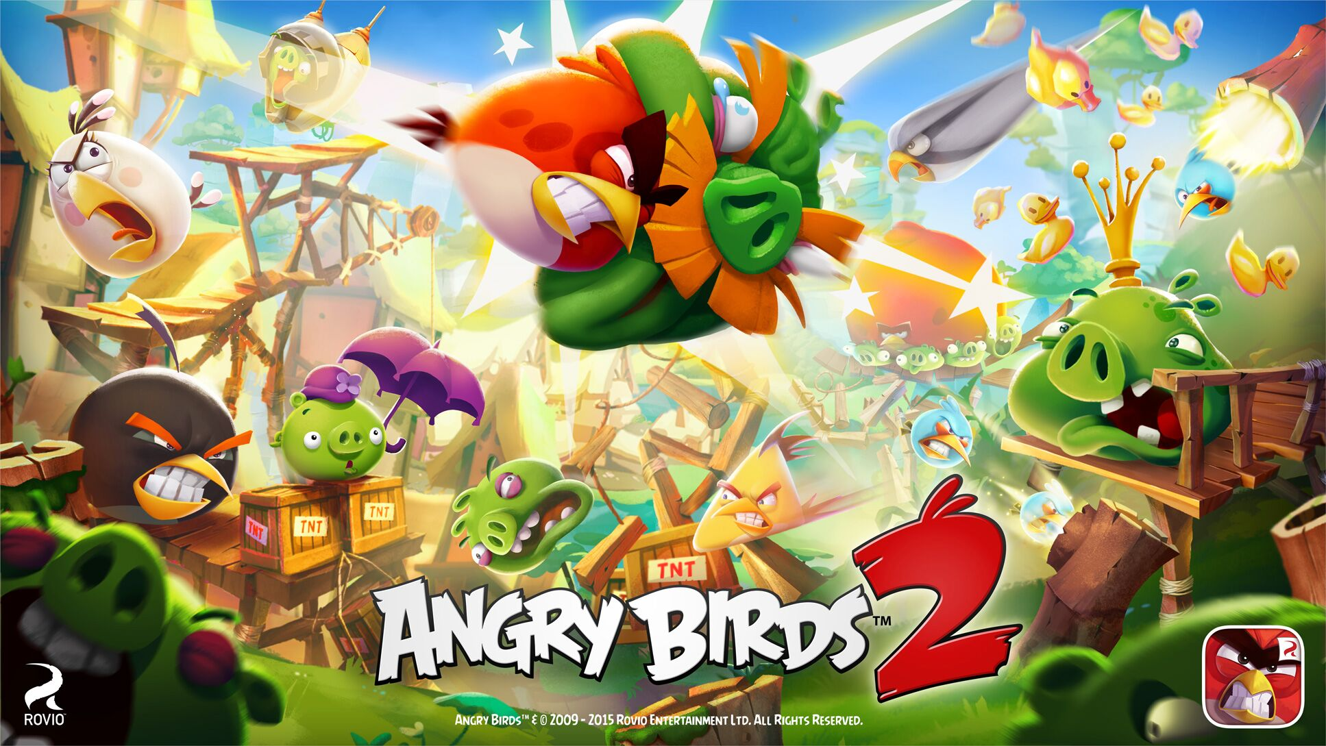 angry birds 2 free wifi game