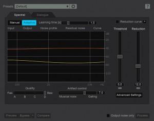 de-noise-spectral-adaptive