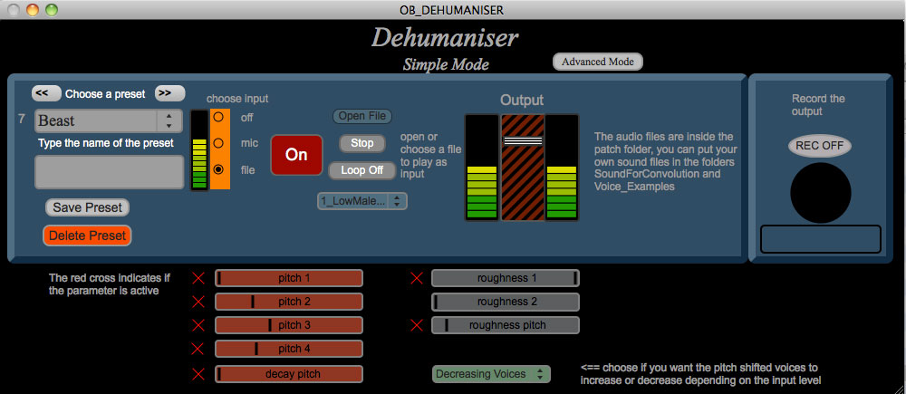Dehumaniser-concept