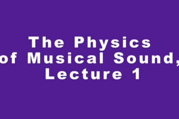 Physics-of-Musical-Instruments