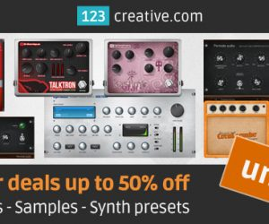 123creative Summer deals up to 50% off VST plugins Samples Synth presets