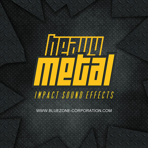 Bluezone releases 'Heavy Metal Impact Sound Effects' sample