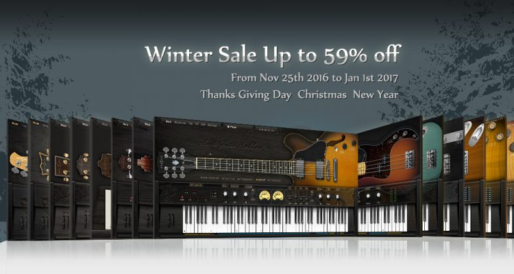 Ample Sound Winter Sale (up to 59% off) – The Audio Spotlight
